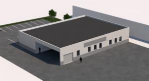 AGIPIERRE - Création d'un bâtiment industriel